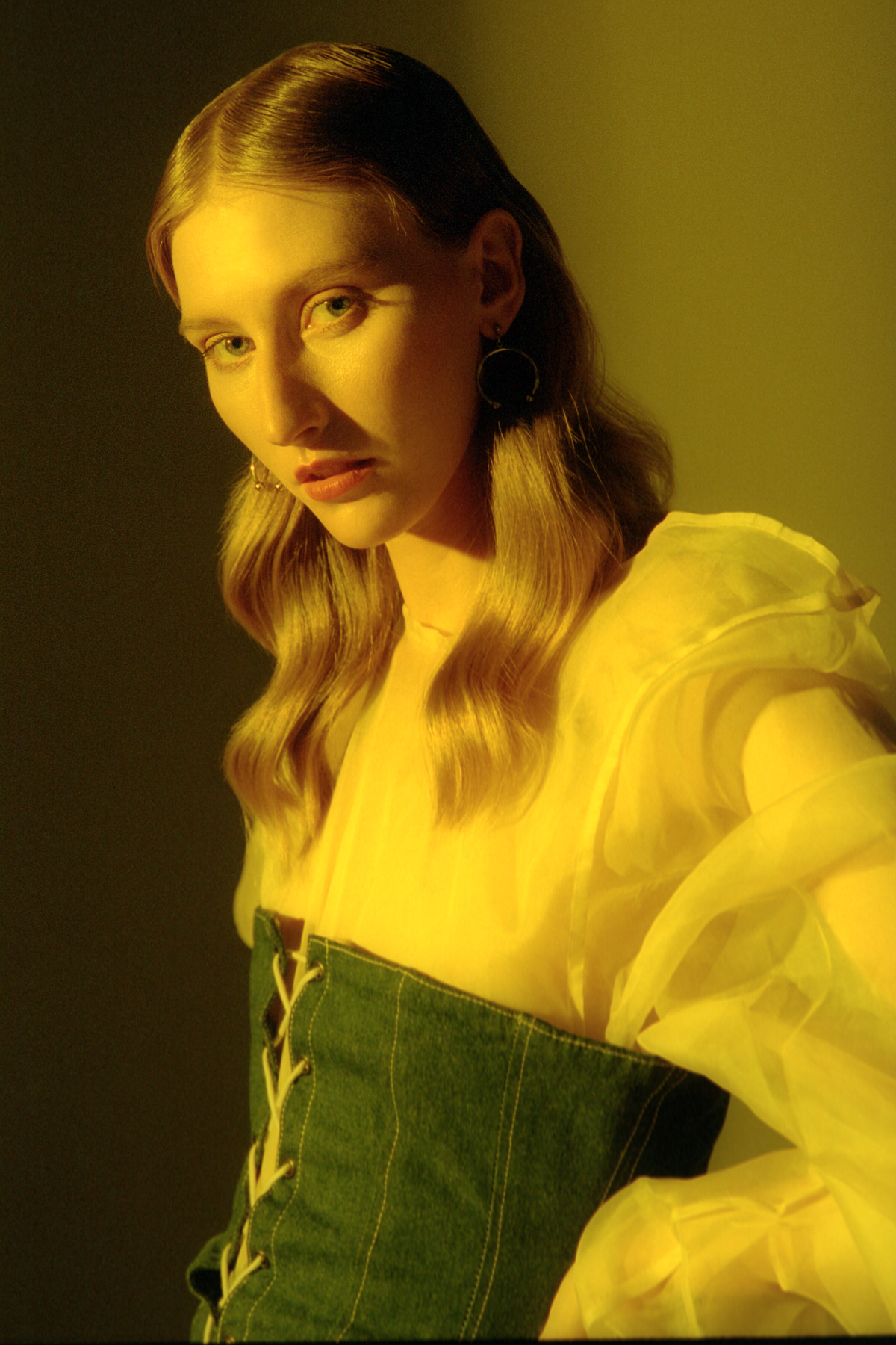 Teeth Magazine Online Thanh Nguyen Editorials Film Photography Yellow Lighting