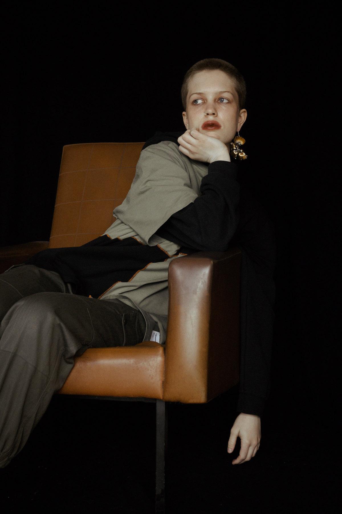 Teeth Magazine Online Editorial Laura Pelissier Film Fashion Photography