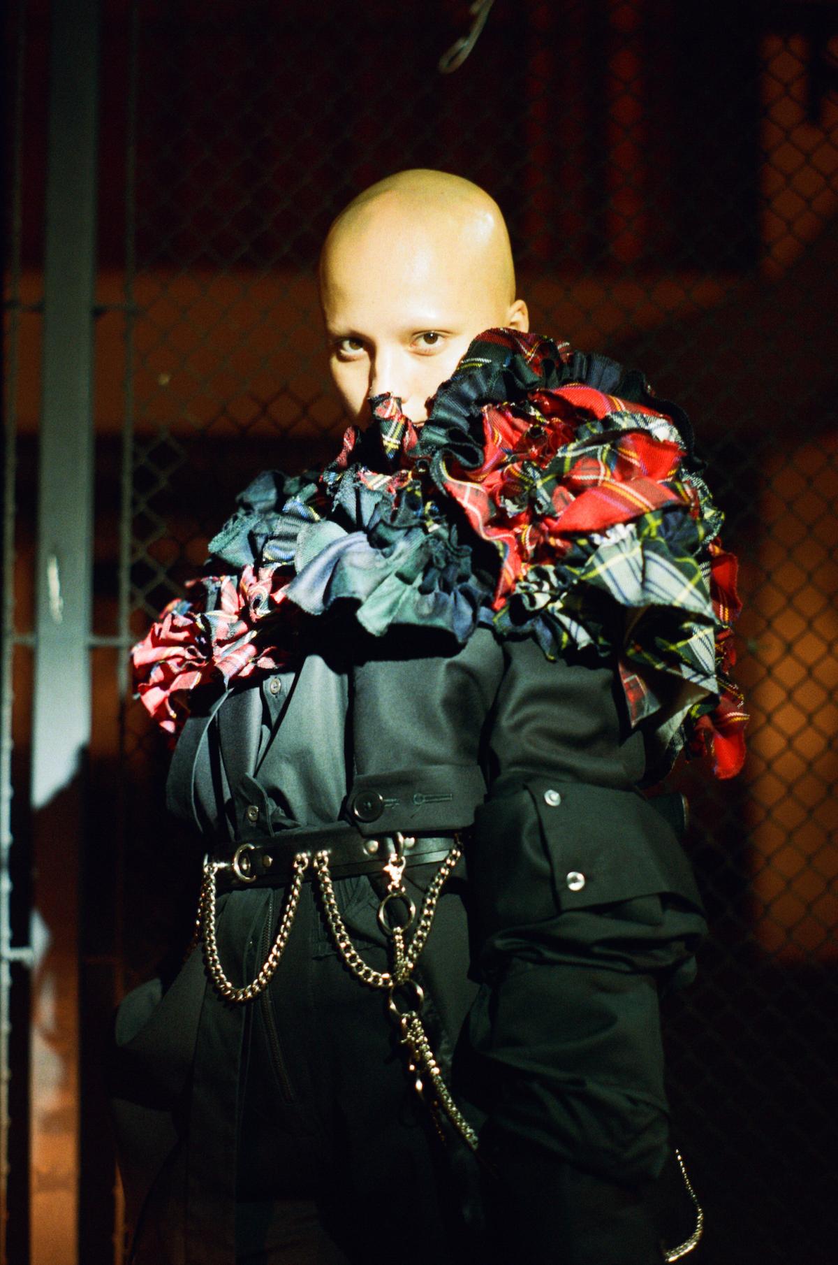 Teeth Magazine Online Editorial Film Fashion Photography Katy Shayne Junya Watanabe Comme des Garçons