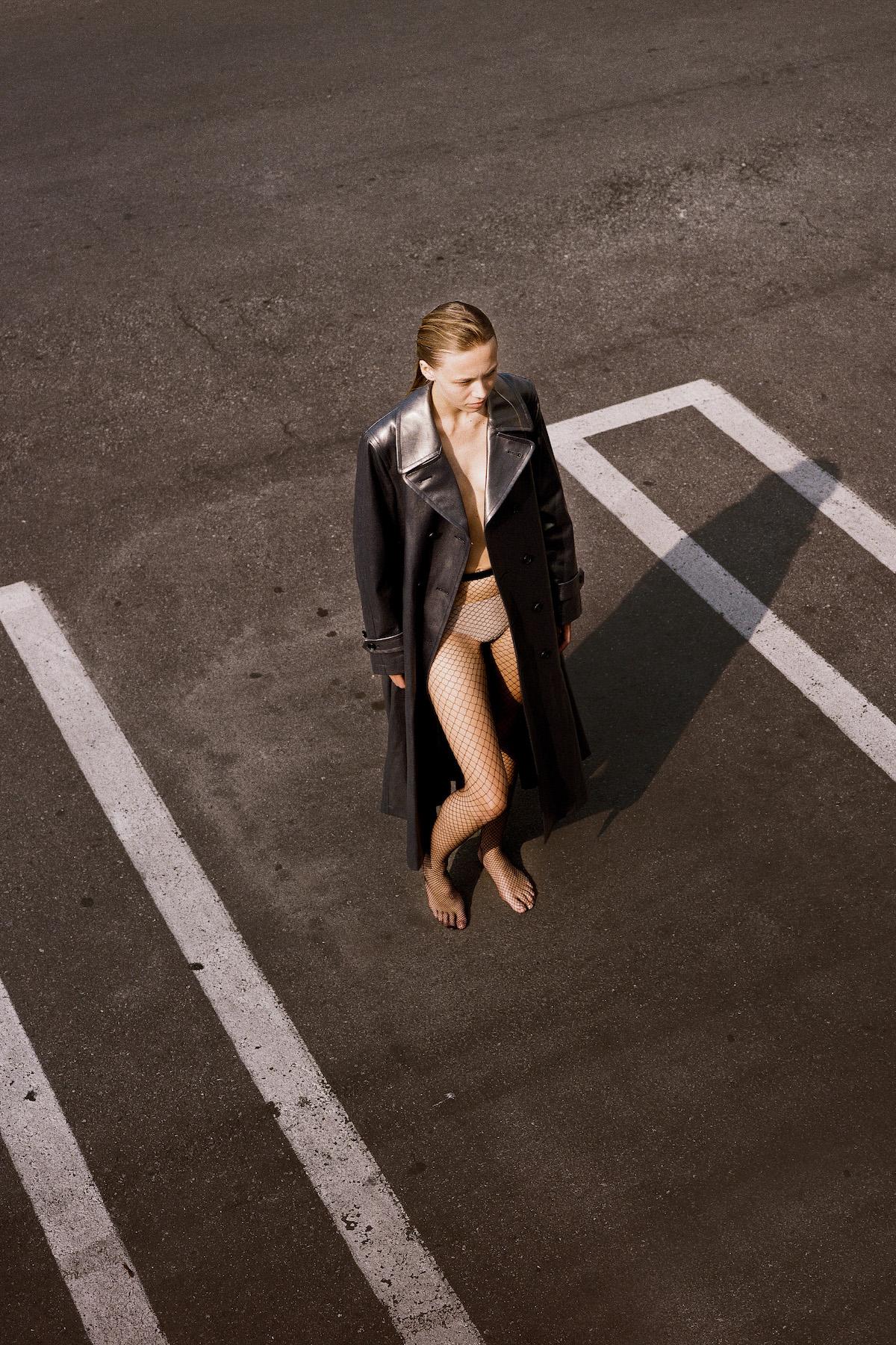 Teeth Magazine Online Fashion Editorials Film Photography Leeor Wild Comme des Garçons