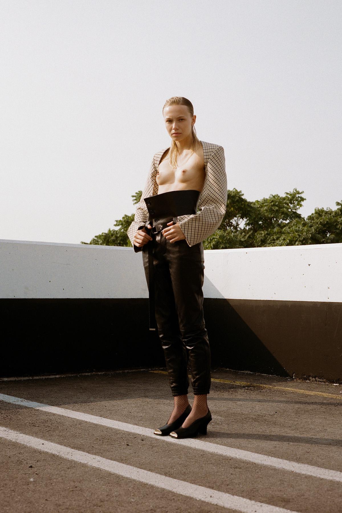 Teeth Magazine Online Fashion Editorials Film Photography Leeor Wild Stella McCartney Saint Laurent