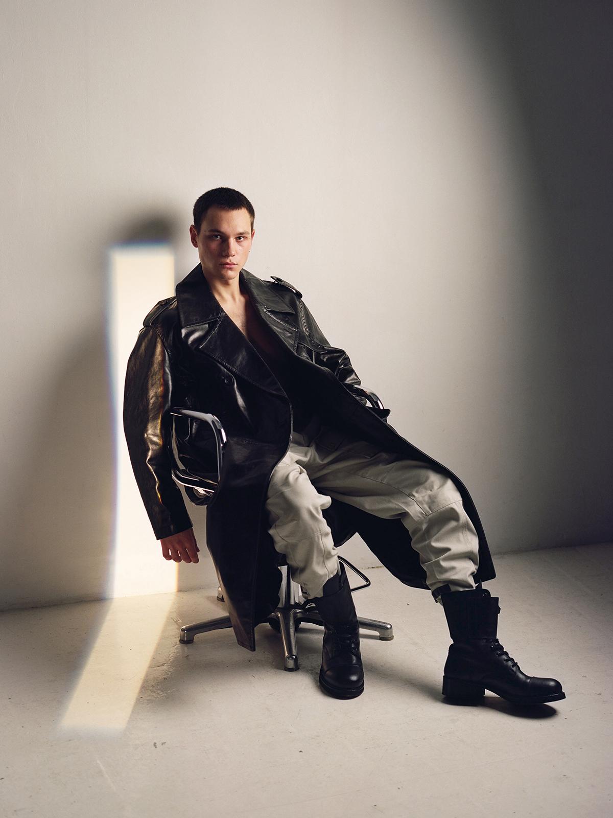 Teeth Magazine Online Yves Mortada Fashion Editorial Film Photography Dirk Bikkembergs Acne Studios