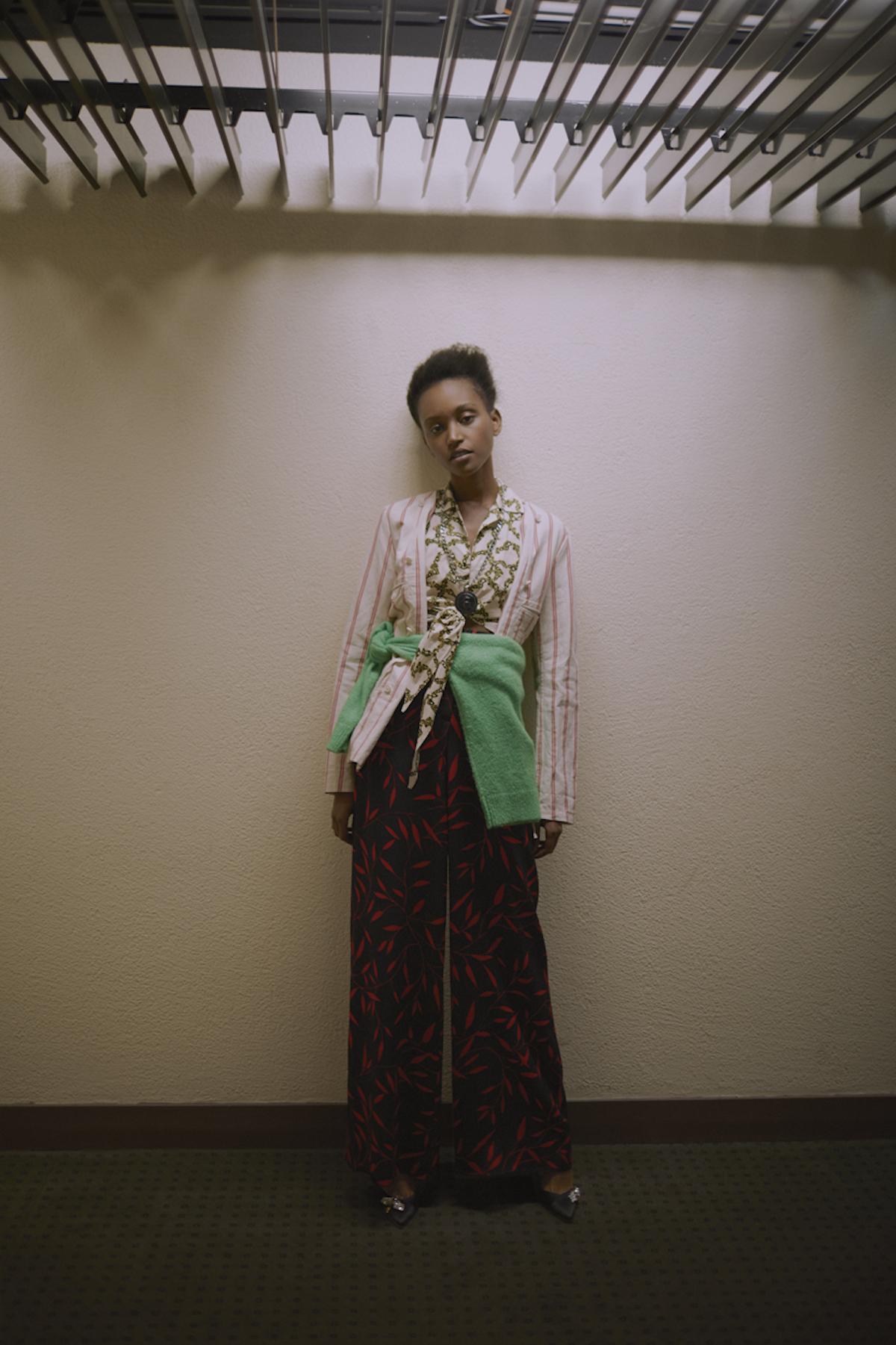 Teeth Magazine Online Guillaume Millet Christelle Yambayisa Premium Models MM6 Maison Margiela Carven