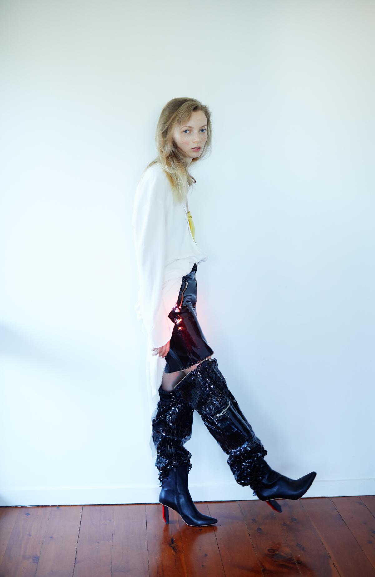 Teeth Magazine Online Natalie McKain Editorial Film Photography Fashion Tommy Cope Vetements
