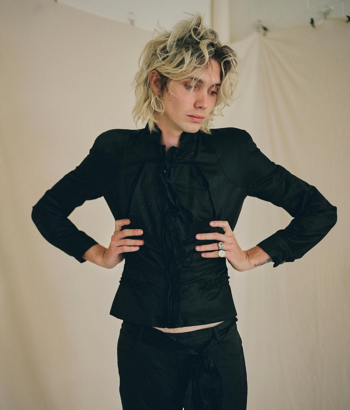 Teeth Magazine Online Carly Foulkes Donna Lisa Fashion Editorial Saint Laurent