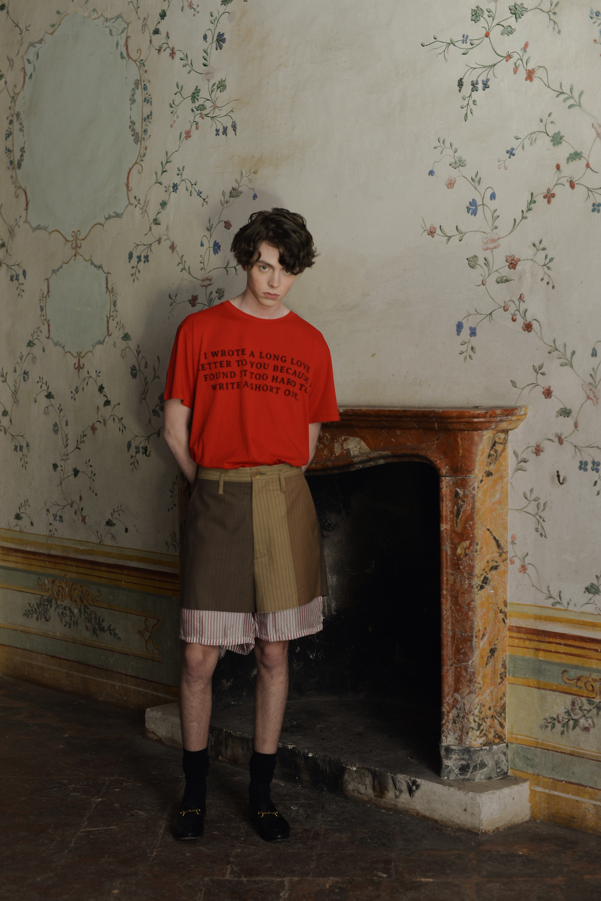 Teeth Magazine Online Julia Morozova Fashion Editorial Gucci Marni