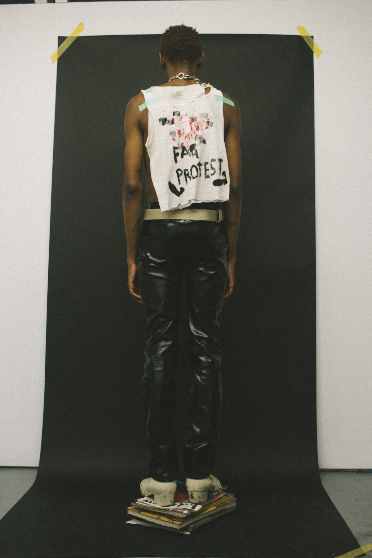Teeth Magazine Online Mark Aghatise Mens Fashion Editorial FAG RIOT Eckhaus Latta